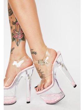 Pretty Lovesick Damsel Platform Heels by Pleaser