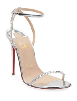 Planetava Spike Red Sole Sandals by Christian Louboutin