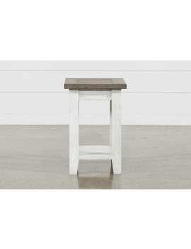 Dixon Chairside Table by Living Spaces