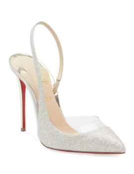 Optisexy Glitter Red Sole Pumps by Christian Louboutin