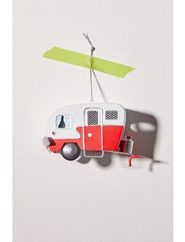 Tin Camper Van Christmas Ornament by Urban Outfitters