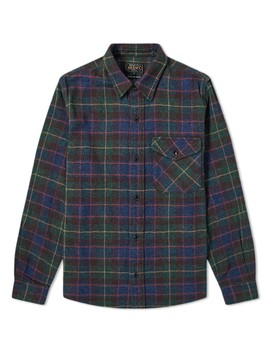 Beams Plus Tweed Check Guide Shirt by End.