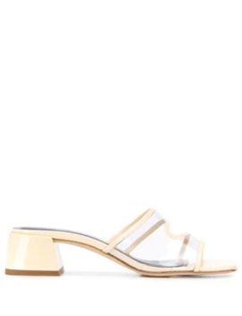Transparent Panel Mules by By Far