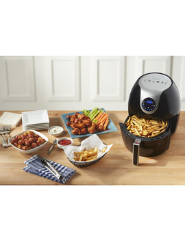 Insignia Digital Air Fryer   5.5 L   Black   Only At Best Buy by Best Buy