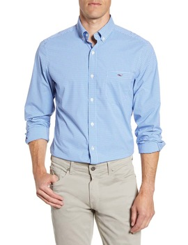 Tucker Classic Fit Check Button Down Performance Shirt by Vineyard Vines