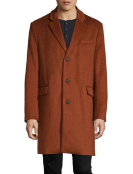 Notch Lapel Topcoat by Topman