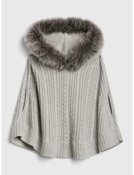 Toddler Faux Fur Poncho by Gap
