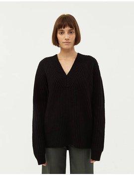 Keborah L Wool Sweater In Black by Acne Studios Acne Studios
