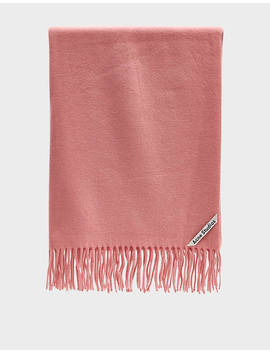 Canada New Scarf In Pale Pink by Acne Studios Acne Studios