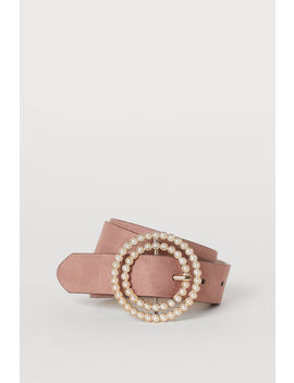 Belt With A Beaded Buckle by H&M