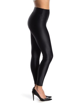Coated Shine Leggings by Yummie By Heather Thomson