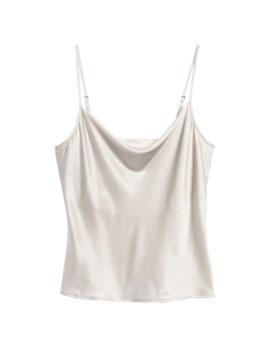 Washable Silk Cowl Neck Camisole by Banana Repbulic