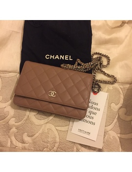 Chanel Woc Perfect Condition Apart From Some Colour by Depop