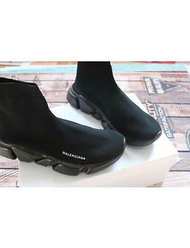Men's Size 8 Balenciaga Speed Trainer Runner Shoes Free Shipping by Balenciaga