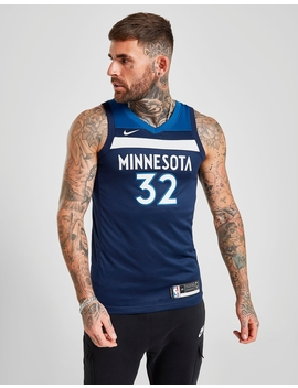 Nike Nba Minnesota Timberwolves Towns #32 Sm Jersey by Jd Sports