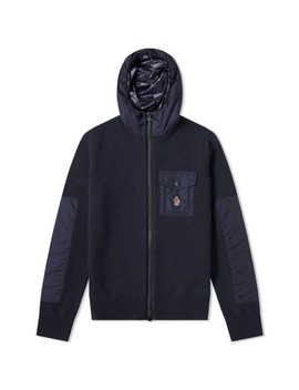 Moncler Grenoble Hooded Knit Jacket by Moncler Grenoble