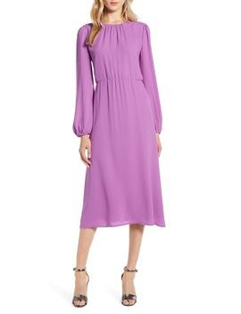 Long Sleeve Midi Dress by Halogen®