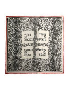 Frayed Printed Cashmere Scarf by Givenchy
