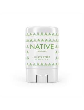 Native Mistletoe Holiday Mini Deodorant   0.35oz by Native