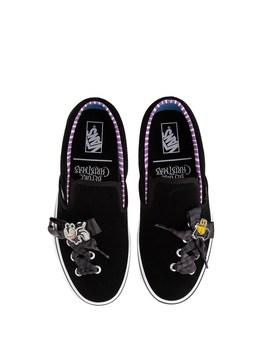 Vans X The Nightmare Before Christmas Slip On Haunted Toys Skate Shoe   Black by Vans