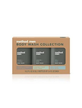 Holiday Mini Body Wash Gift Pack   3pc by Method