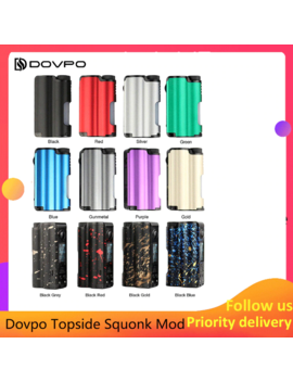 Original Dovpo Topside Squonk Mod 90 W Top Fill With 10ml Squonk Bottle Powered By Single 21700 Vs Athena Squonk Rage Mod by Ali Express.Com