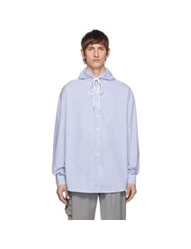 Blue Stripe Chuck Shirt by Ader Error