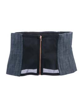Denim Corset Belt by Tibi