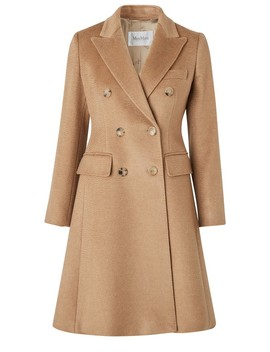 Rigel Camel Hair Coat by Max Mara