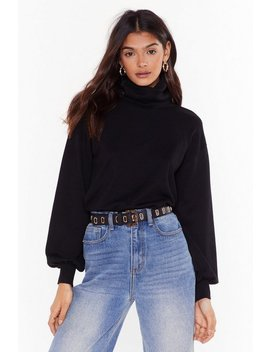 That's How We Roll Knit Turtleneck Sweater by Nasty Gal