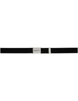 Black Chrome Clip Belt by Carhartt Work In Progress
