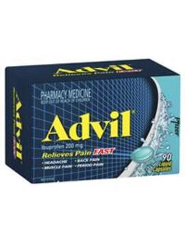 Advil Liquid Capsules 90 by Analgesics