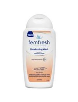 Femfresh Deodorising Wash 250ml by Intimate Hygiene