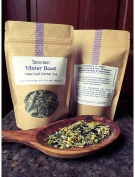 Immunity Boost Loose Leaf Tea by Etsy
