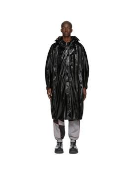 Black Pu Coat by Chen Peng