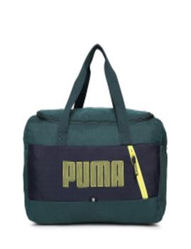 Unisex Green Fundamentals Sports S Ii Duffel Bag by Puma