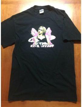 Vintage Avril Lavigne 2005 Bonez Tour Shirt Size Large Band Music by Avril Lavigne