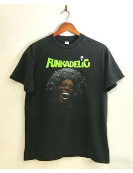 Rare Vintage Funkadelic Shirt 90's Hip Hop Rap Band Tee Tour And Concert Vtg by Gildan