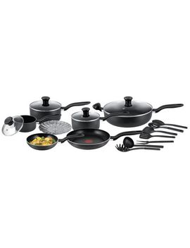 T Fal Simply Cook 18 Piece Non Stick Cookware Set by Walmart