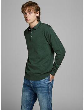 Long Sleeved Polo Shirt by Jack & Jones