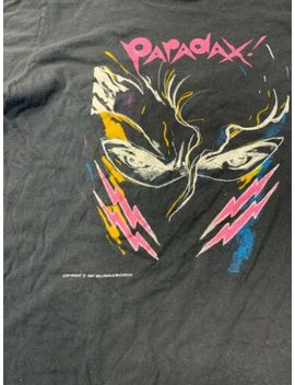 Vintage 80s Paradax Band T Shirt Synth Pop Rare Made In Usa 1987 by Unbranded
