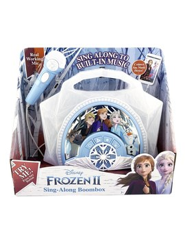 Disney Frozen 2 Sing Along Boombox by Smyths