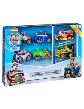 Paw Patrol True Metal Classic Gift Pack Of 6 Collectible Die Cast Vehicles by Smyths