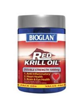 Bioglan Red Krill Oil 1000mg 60 Capsules by Vitamins