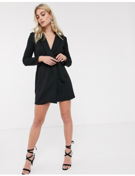 French Connection Tuxedo Mini Dress by French Connection