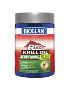 Bioglan Red Krill Oil Active Joints Plus 90 Capsules by Bioglan
