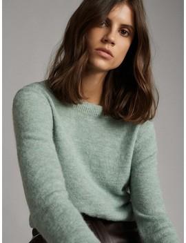 Cardigan Pullover Mit KnÖpfen   Beidseitig Zu Tragen by Massimo Dutti