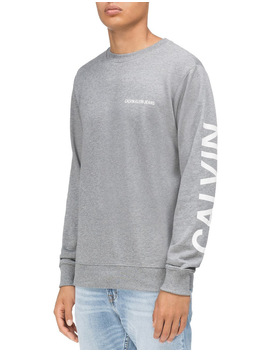 Institutional Back Logo Reg Cn Sweat Top by Calvin Klein Jeans