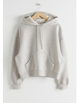 Oversized Boxy Hooded Sweatshirt by & Other Stories