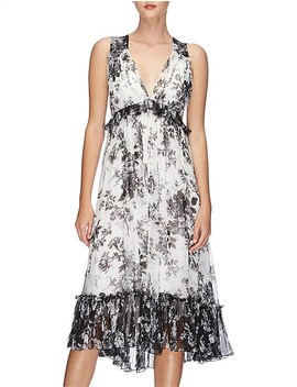 Midsummer Silk Midi Dress by Lover